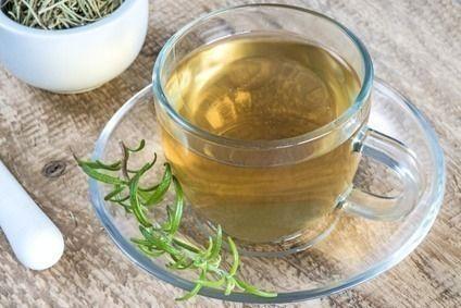Como fazer o chá de alecrim com hortelã