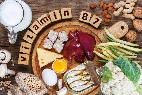 alimentos que contem vitamina b7