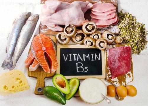 vitamina b5 alimentos