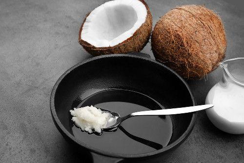 como usar óleo de coco extra virgem