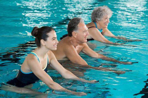 hidroterapia exercicios