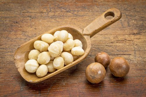 macadamia como consumir