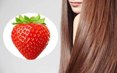 beneficios do morango para o cabelo