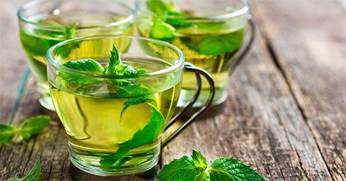 Como fazer o chá de hortelã com gengibre