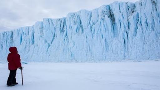O continente gelado da Antártida é disputado por diversas nações